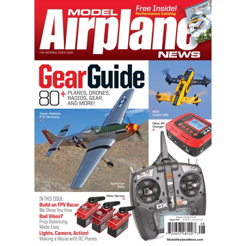 Model Airplane News August 2017 - Air Age Store