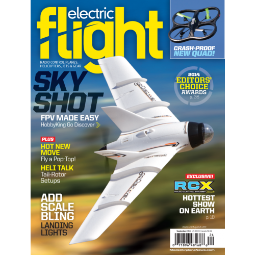 Electric Flight September 2014 - RC Planes - Back-Issues