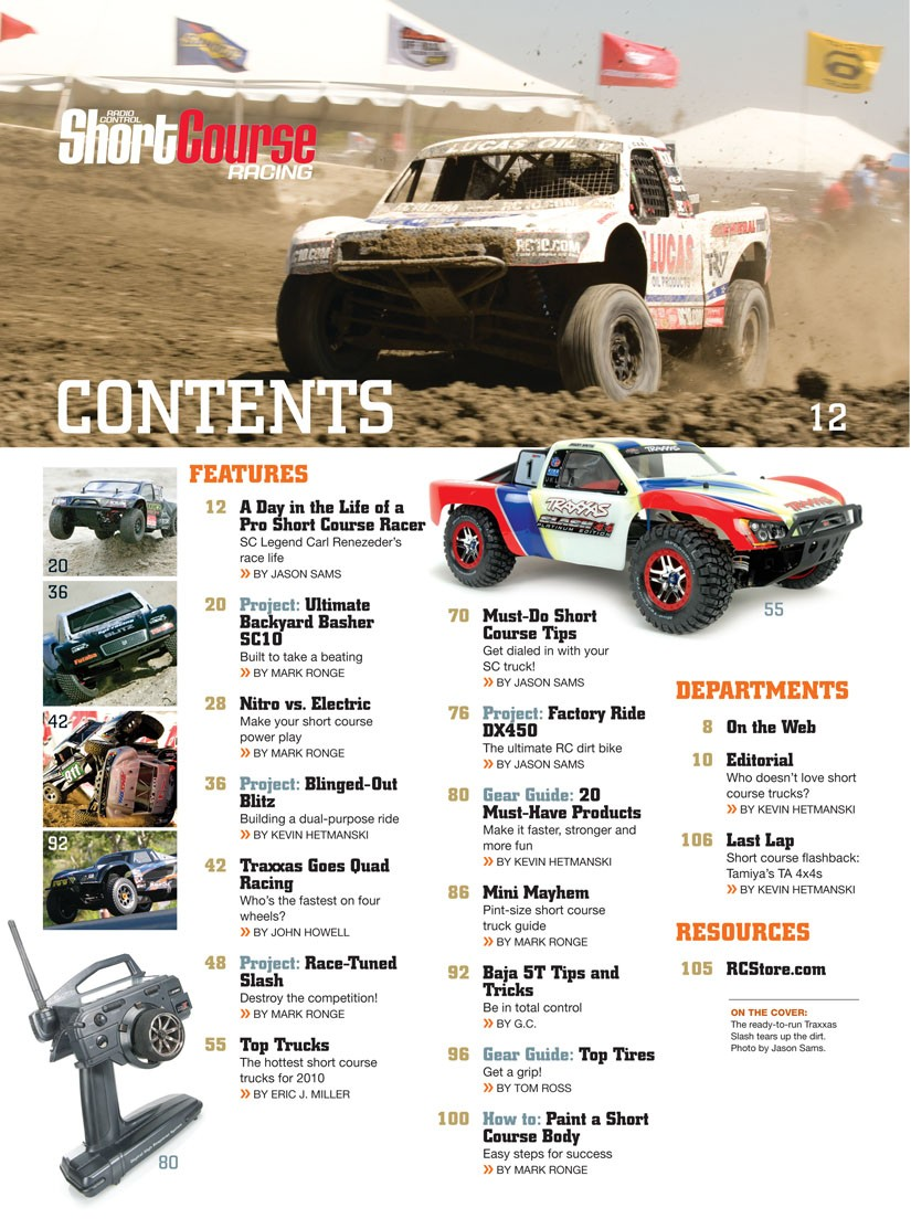 Rc Short Course Racing Rc Cars Special Issues Air Age Store