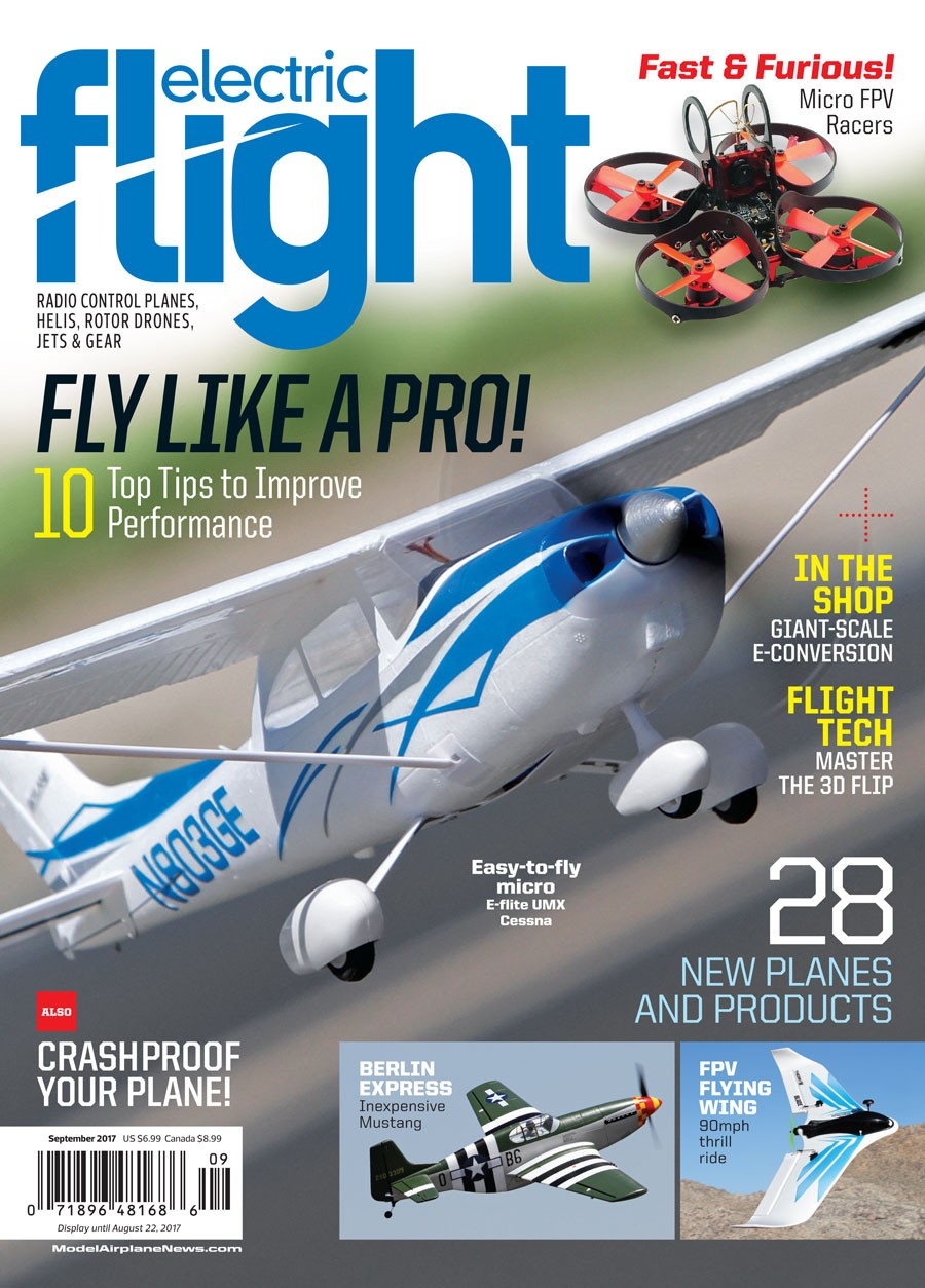 Electric Flight September 2017 - RC Planes - Back-Issues