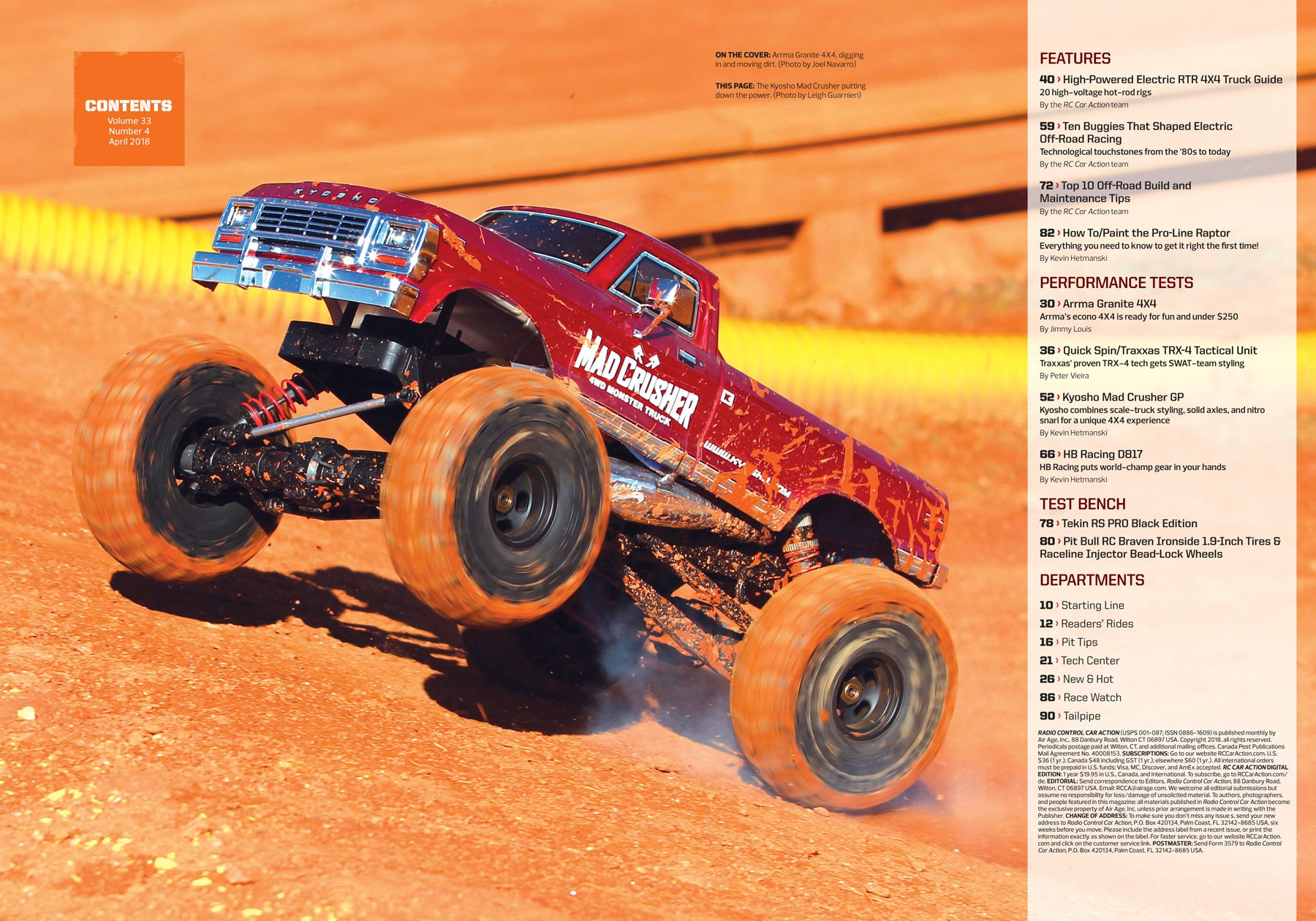 RC Car Action April 2018 - RC Cars - Back-Issues - Magazines