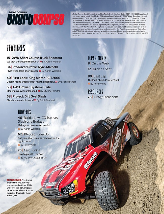 RC Short Course Fall 2013 - RC Cars - Special -Issues - Air Age Store