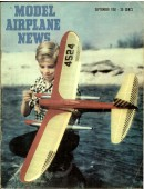 Model Airplane News Vintage Cover Poster - September 1951