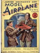 Model Airplane News Vintage Cover Poster - February 1930