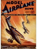 Model Airplane News Vintage Cover Poster - July 1932
