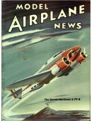 Model Airplane News Vintage Cover Poster - August 1939