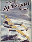Model Airplane News Vintage Cover Poster - May 1939