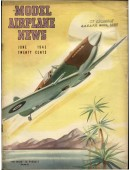 Model Airplane News Vintage Cover Poster - June 1943