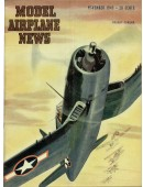 Model Airplane News Vintage Cover Poster - November 1943