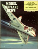Model Airplane News Vintage Cover Poster - April 1954