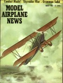Model Airplane News Vintage Cover Poster - March 1956