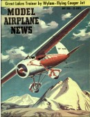 Model Airplane News Vintage Cover Poster - May 1956