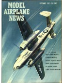 Model Airplane News Vintage Cover Poster - September 1957