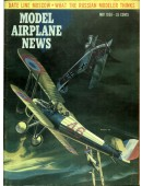 Model Airplane News Vintage Cover Poster - May 1958