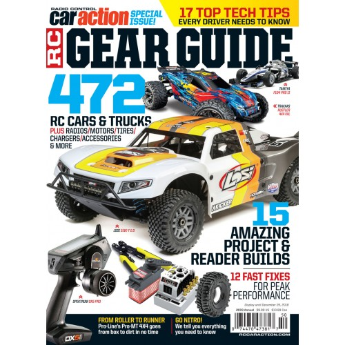 Rc Car Action >> Rc Car Action Gear Guide 2019 Special Issues Air Age Store