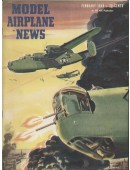 Model Airplane News Vintage Cover Poster - February 1944