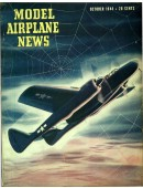 Model Airplane News Vintage Cover Poster - October 1944