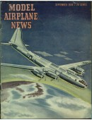 Model Airplane News Vintage Cover Poster - September 1944