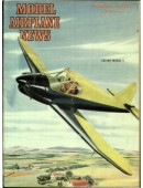 Model Airplane News Vintage Cover Poster - March 1946