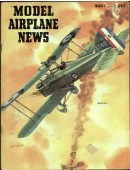 Model Airplane News Vintage Cover Poster - March 1953
