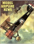Model Airplane News Vintage Cover Poster - May 1953