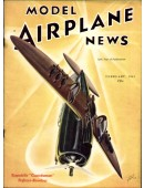 Model Airplane News Vintage Cover Poster - February 1941