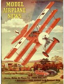 Model Airplane News Vintage Cover Poster - April 1949