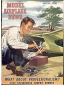 Model Airplane News Vintage Cover Poster - March 1950