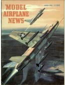 Model Airplane News Vintage Cover Poster - August 1956