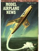 Model Airplane News Vintage Cover Poster - April 1957