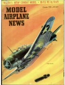 Model Airplane News Vintage Cover Poster - October 1959